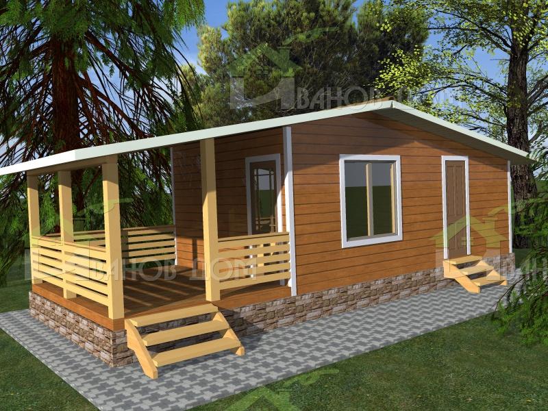 TS4: Простые постройки - Деревенский домик - Дом для